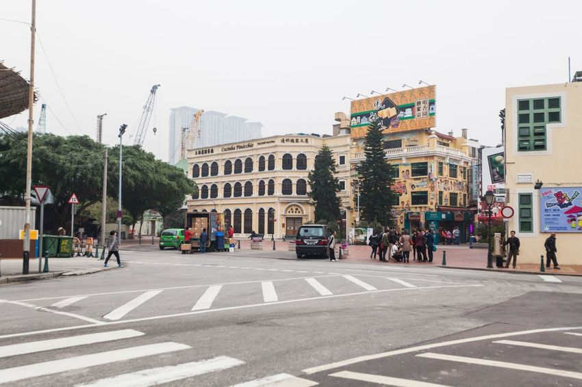 Holiday in Macau - Old Taipa Village Macao Adult Adults Only Architecture ASIA Building Exterior City City Life Day Holiday Macao  Macao China Macau Macau, China Old One Person Outdoors People Sky Taipa  Tree Vacation Village