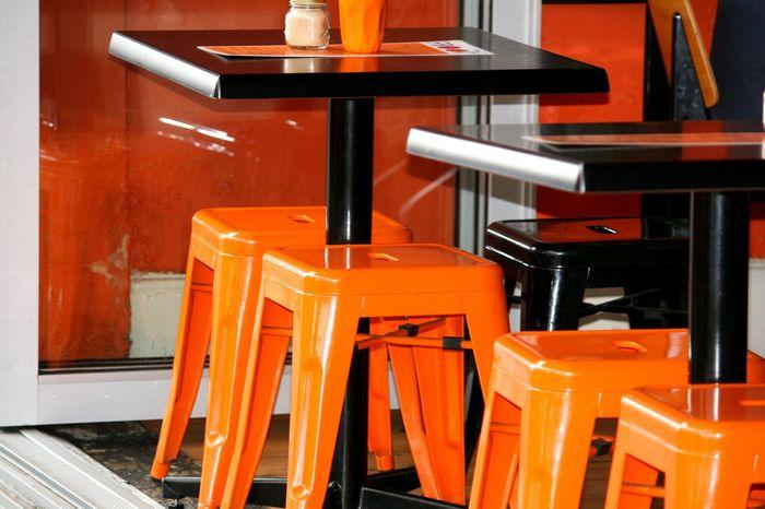 Random :) Orange Chairs Colors