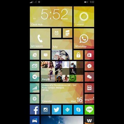 I love Windowsphone8 .1 it just purely awesome Nokia  Lumia1520 Tiles Metrostyle