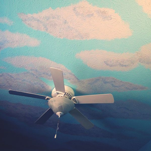My Happy Place  Clouds Bedroom Ceiling Fan Ceiling