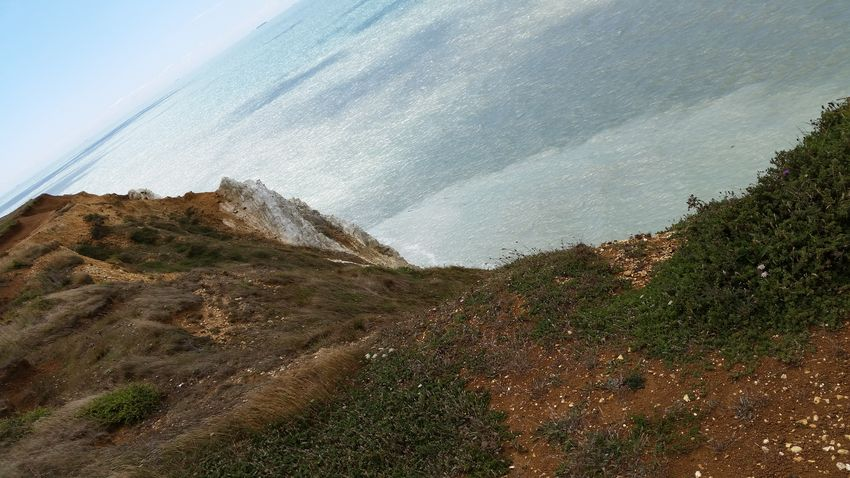 Eastbourne cliffs No People Outdoors Beauty In NatureRock - Object Day Tranquil Scene Summer Adventure Silence Landscape Rural Scene Tranquility Horizon Over Water Adventure Eastbourne Cliff mountain Cloud - Sky Nature Scenicssea water day Travel Destinations Horizon View Horizon Over Water Sea