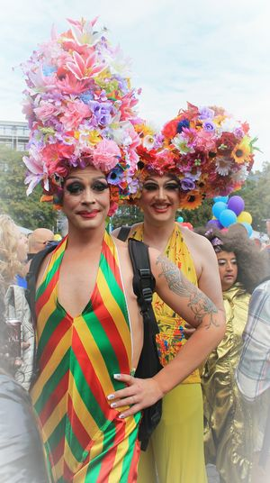 Copenhagen Pride Copenhagen Pride 2016 Pride Parade 2016 Pride Parade Beauty Bird Cage Style Color Palette