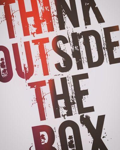 Greystudio Thinkoutsidethebox Quotes Gofightyourself Poster Typography