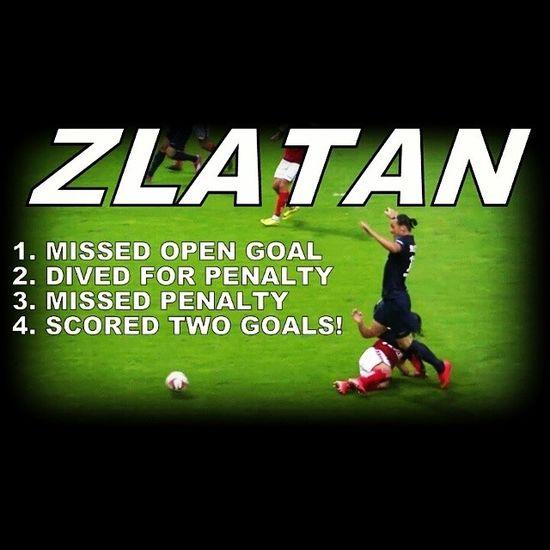 There's only 1 Zlatan. DareToZlatan .