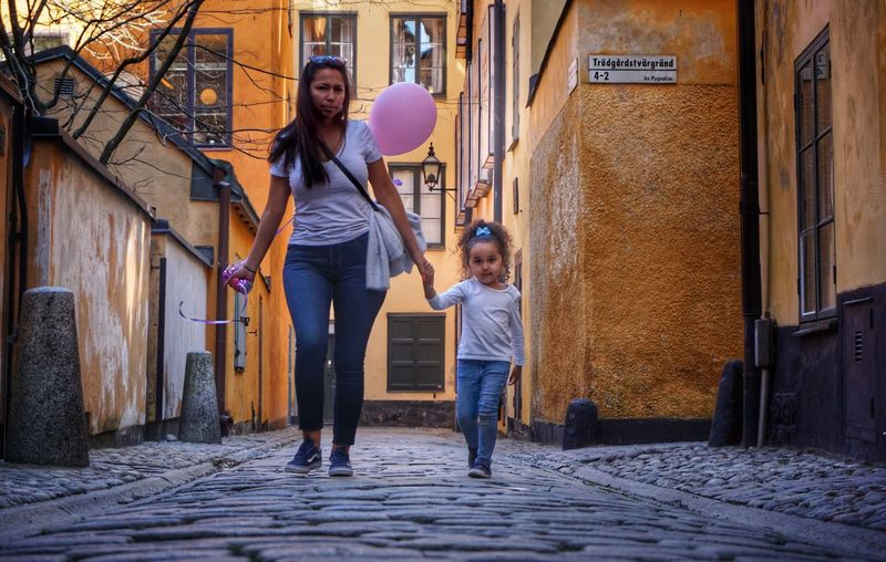 2019 Niklas Storm April Child Females Togetherness Childhood Girls Full Length Daughter Residential Structure Single Parent Parent Young Family My Best Photo