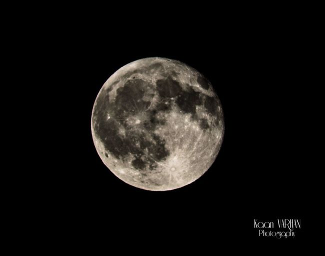 Moon %99.4 from side antalya Moon Moon Surface Astronomy No People Sky