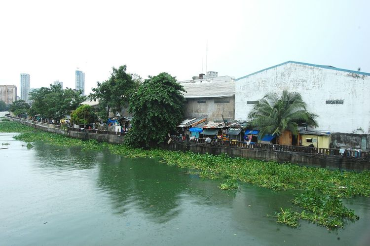Adapted To The City Reflection Nature Outdoors Sky EyeemPhilippines Water River Pollution In My World Riverside Gloom