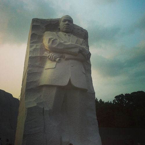 Martin L. King, a legend. Hello World Enjoying Life