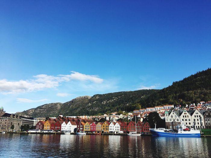 Bergen is sunny