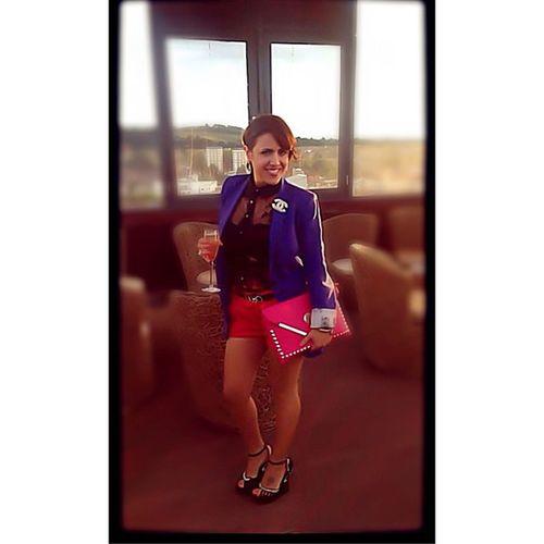 My good friend Gabriella killing it as always! Fashionista FashionGuru Fashion Couture Luxury Designer  Catwalk Model Accessorise HighHeels Blazer Look Sexy Smile Itallian Italiano Italy