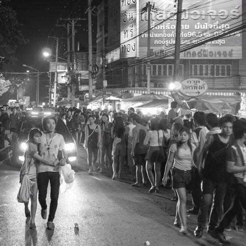 RePicture Love Chiang Mai Travel Blackandwhite