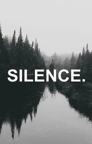 Silence The Calmness Within Silent Moment