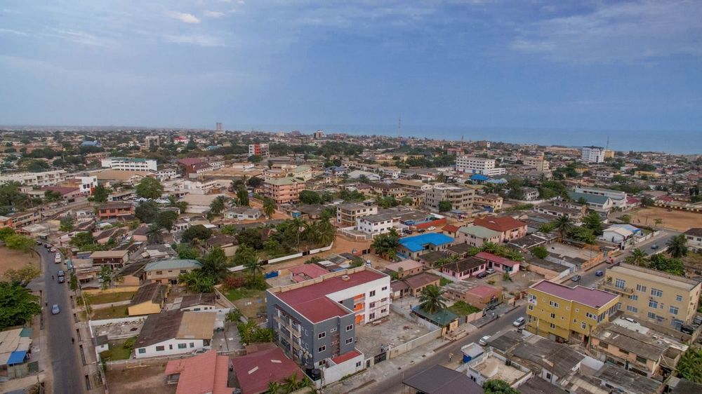 Residential bliss close to the sea DJI Mavic Pro Dorofoto Onefotos Building Exterior Architecture Built Structure City Building High Angle View Sky Cityscape Residential District Cloud - Sky Outdoors TOWNSCAPE