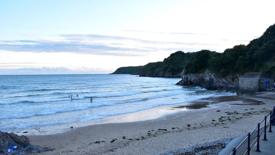 Taking Photos Sunset Seaside Beach Vacations Nikon D5500