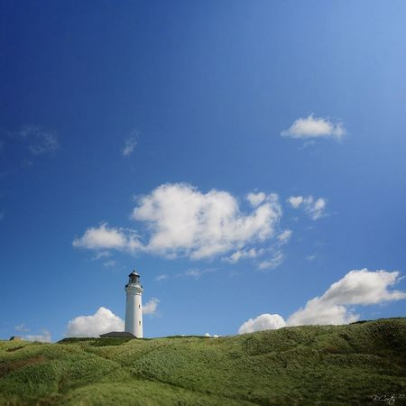 Landscape Lighthouse Sky © b.cortis www.cortis.info