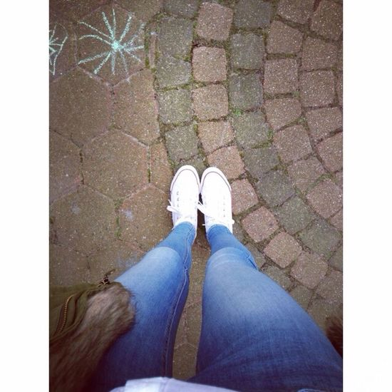Newin White Sneakers Street Fashion