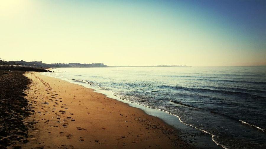 Sea And Sky Sun Light Peaceful Nature #beach