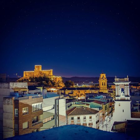 Almansa desde el balcón. Almansa Taking Photos Photography Stylexstudio Picoftheday Photogrid OneDayOnePic Nightphotography Canon5dmk2
