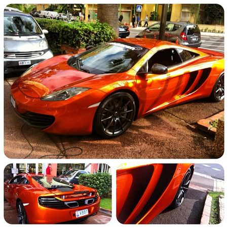 Too bad that color is abused by an idiot imp back home McLaren Monaco Topgear