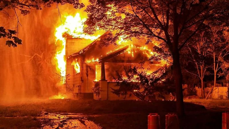 Tough fire tonight. Guys did a great job containing the fire to its original area. Vacant home and everyone made it home safe. Surround&Drown Firefighter No Days Off Always Ready The Calling Honor Commitment Pride Service