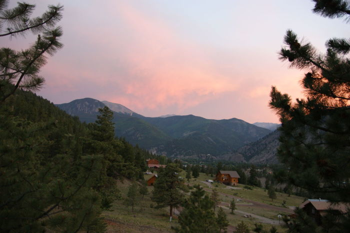 Lake City Limamoka Mountain Scenics Sunset Tranquility Tree Valley Been There. Colorado