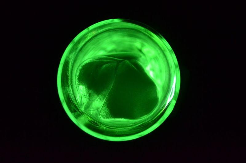 Agua Verde  Geometric Shape Glass Green Color Hielos Luz Motion Water