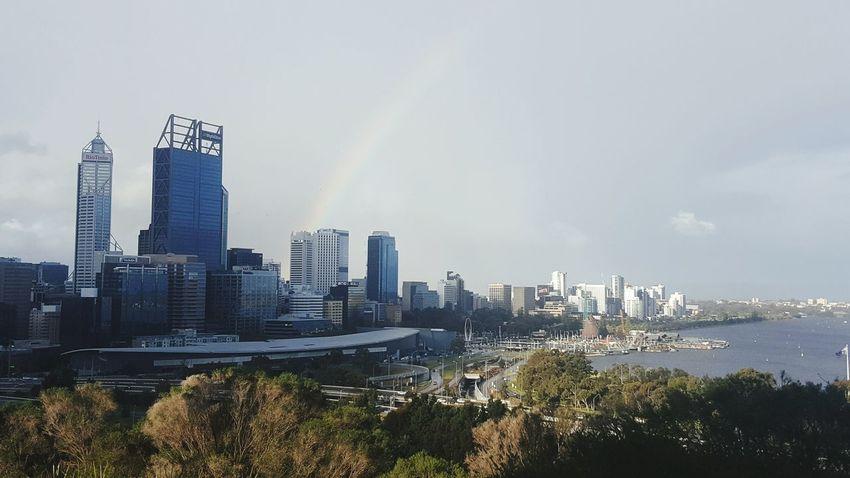 First Eyeem Photo Kings Park Perth Perth Australia Rainbow Rainbow Clouds Clouds Sky Sky