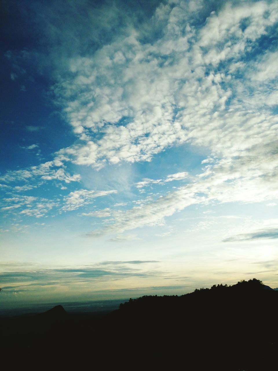 silhouette, sky, nature, sunset, tranquil scene, landscape, scenics, no people, beauty in nature, outdoors, day