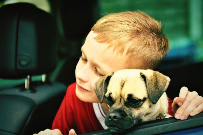 How Cute Is This Picture Little Boy And His Dog This Is AEyEem Great. Pets And Kids You Love One You Love The Other Hope You Enjoy This Picture EyeEm Best Shots EyeEm Gallery Pet Portraits