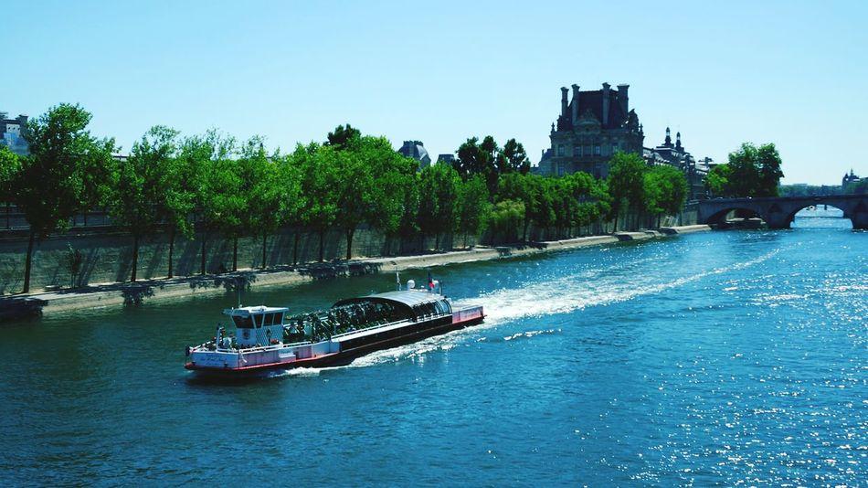 Pont Passerelle Léopold-Sédar-Senghor La Seine