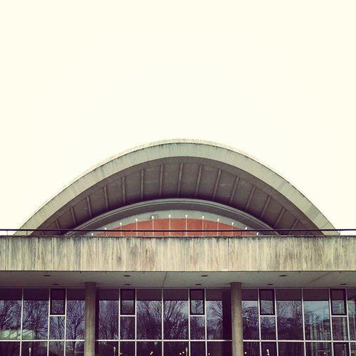 Haus der Kulturen der Welt. Hkw Berlin Mitte Tiergarten sightseeing architecture orange