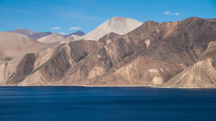 Mountain and water texture of Pangong lake in Leh. North province of India. Nature Nature Textures PangongTso Perspectives On Nature Beauty In Nature Day Dry Martini  Dry Mountain Himalaya Indoors  Landscape Leh Mountain Mountain Range Nature No People Outdoors Pangonglake Scenics Sky Tranquil Scene Tranquility Water