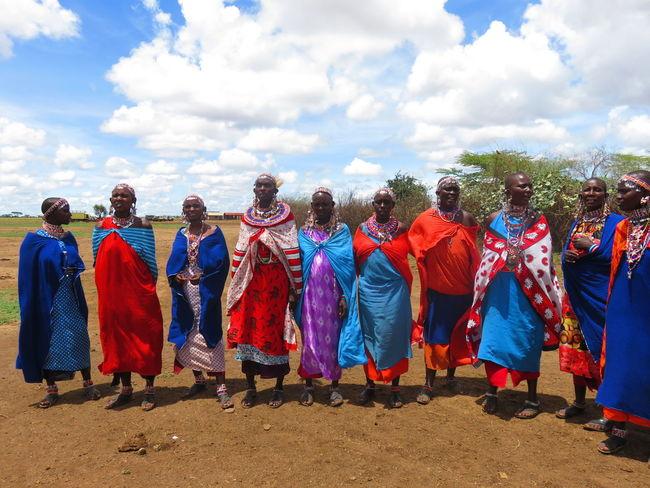 Africa African Tribe Life Kenya Tribal