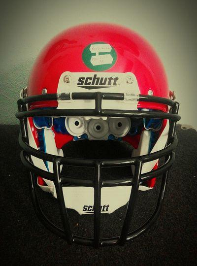 New helmet. PLFA8 2015. Warriors Lubin! Warriors Lubin American Futball Team Helmet Schutt