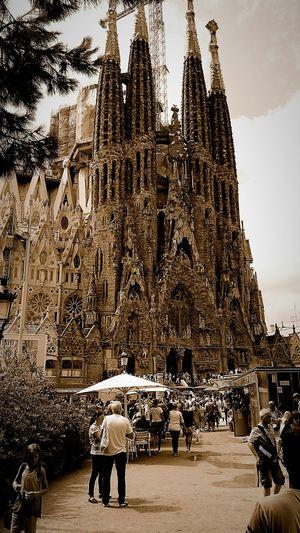 Segrada Familia 2015  Barcelona