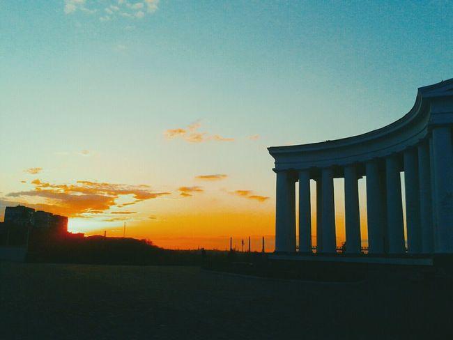 great view Odessagram Odessa,Ukraine Night Time sky