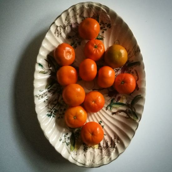 Food And Drink Freshness Orange Color Orange Overhead View Studio Shot Food Healthy Eating Easy Peelers Satsumas Platter