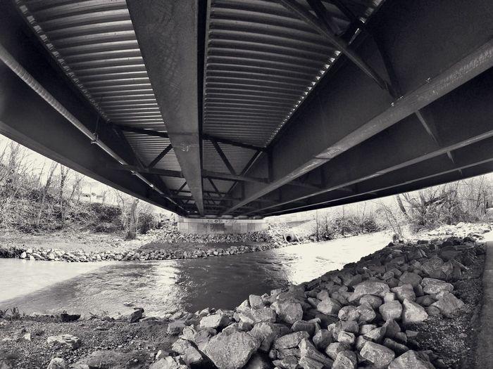 Blackandwhite Bridge Kingsport Tennessee