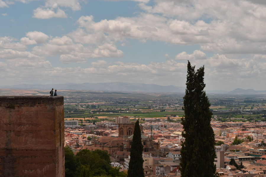 view on Granada from Alhambra castle Arabic Architecture Monument Alhambra Granada SPAIN Summer Vacation Finding New Frontiers Miles Away The Great Outdoors - 2017 EyeEm Awards Neighborhood Map Been There. Done That. Lost In The Landscape