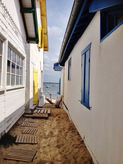 Au Cap Ferret Architecture Built Structure Building Exterior Building Day Residential District The Way Forward Beach