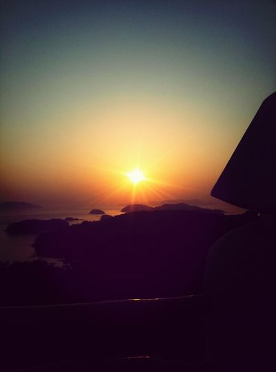 Beautiful Sunset Beautiful amazing Sunset in Tong-yeong.