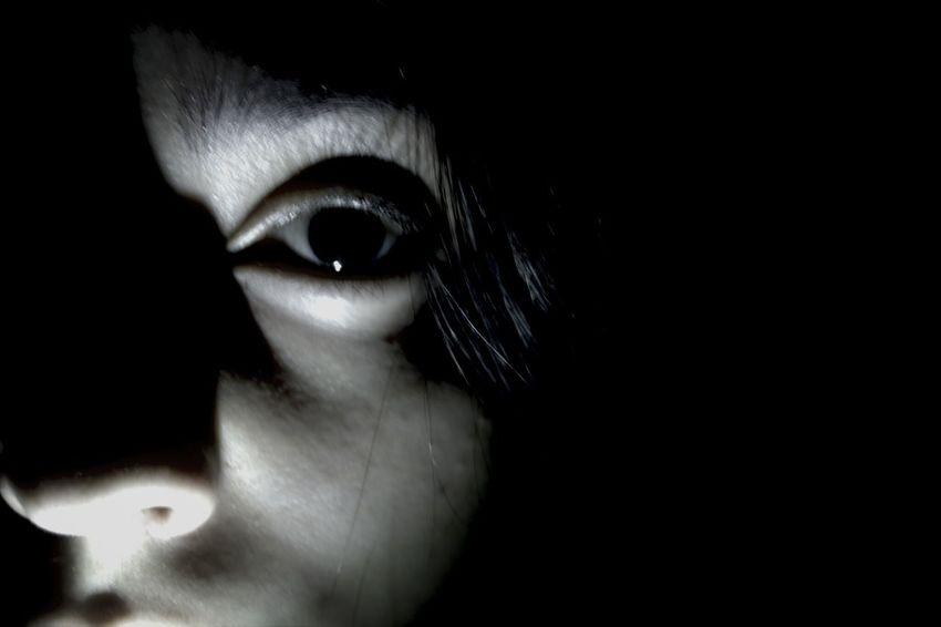 Eye Black & White Photography