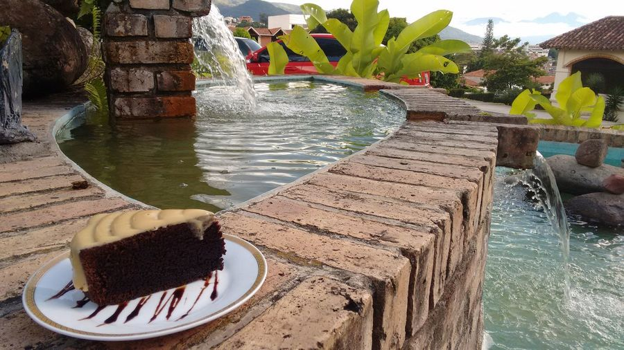 Chocolate♡ Plate Food Porn Sweet Food Delicious ♡ Brown Cakes Cake♥ Foodie Chocolate Source Of Water Nature Coffee Break