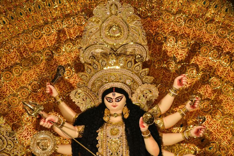 Worship the almighty.. Check This Out Durgapuja Durga Goddess Worship Celebrating Idols