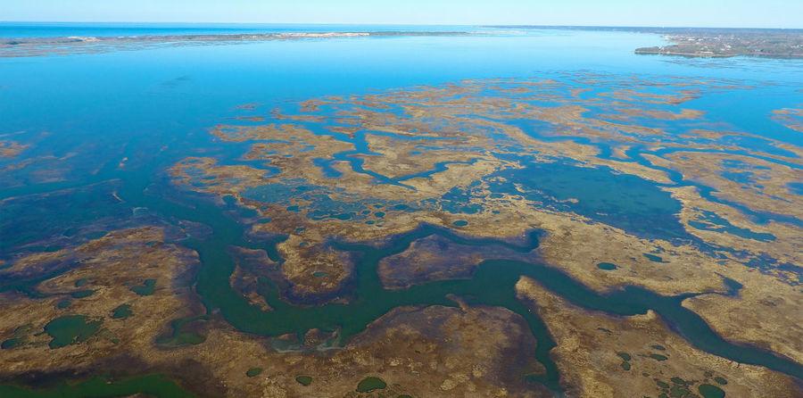 Great Marsh at Barnstable Harbor, Cape Cod Aerial Barnstable Cape Cod Massachusetts Drone  Marsh New England  Ocean Sea