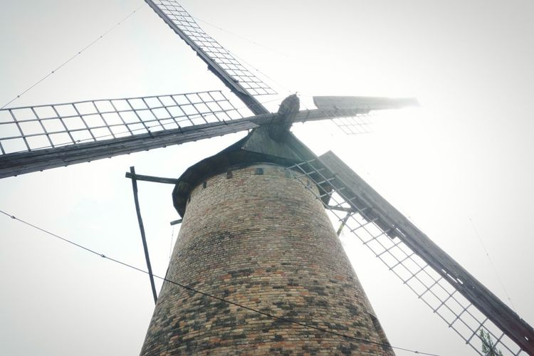 Low Angle View Windmill Section EyeEm Best Shots Windmill Windmill Photography No Filter, No Edit, Just Photography Windmill Of The Day Art Is Everywhere Easter Ready EyeEm Folklore Hungarian Agriculture Outdoors