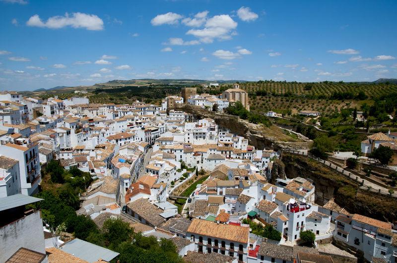 Setenil de las Bodegas SPAIN Setenil De Las Bodegas Town City España