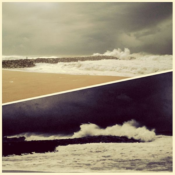 Strom February Beach Winter Tempestade Inverno Praia Fevereiro EyeEm Best Shots No People Nature Outdoors Landscape Day