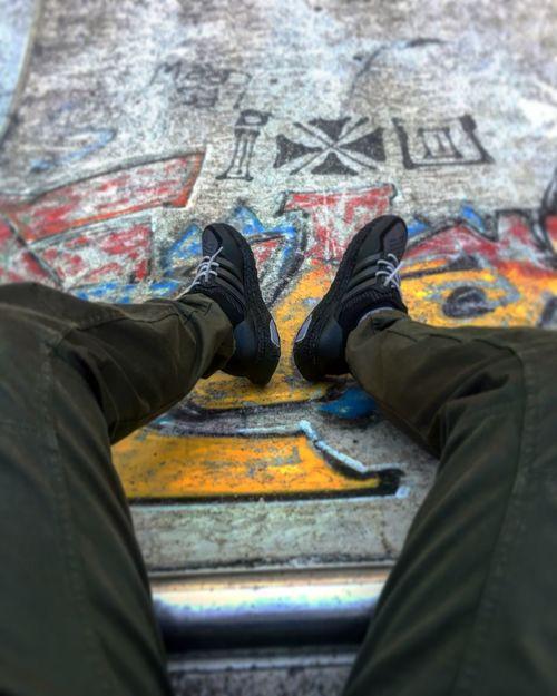 Sneakers Sneakersaddict Lifestyles Graffiti Human Leg Outdoors Adidas Ultra Boost First Eyeem Photo