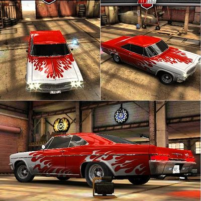 Csrclassics Chevrolet Impala .CandyAppleRed cars hotrod fastandthefurious speed